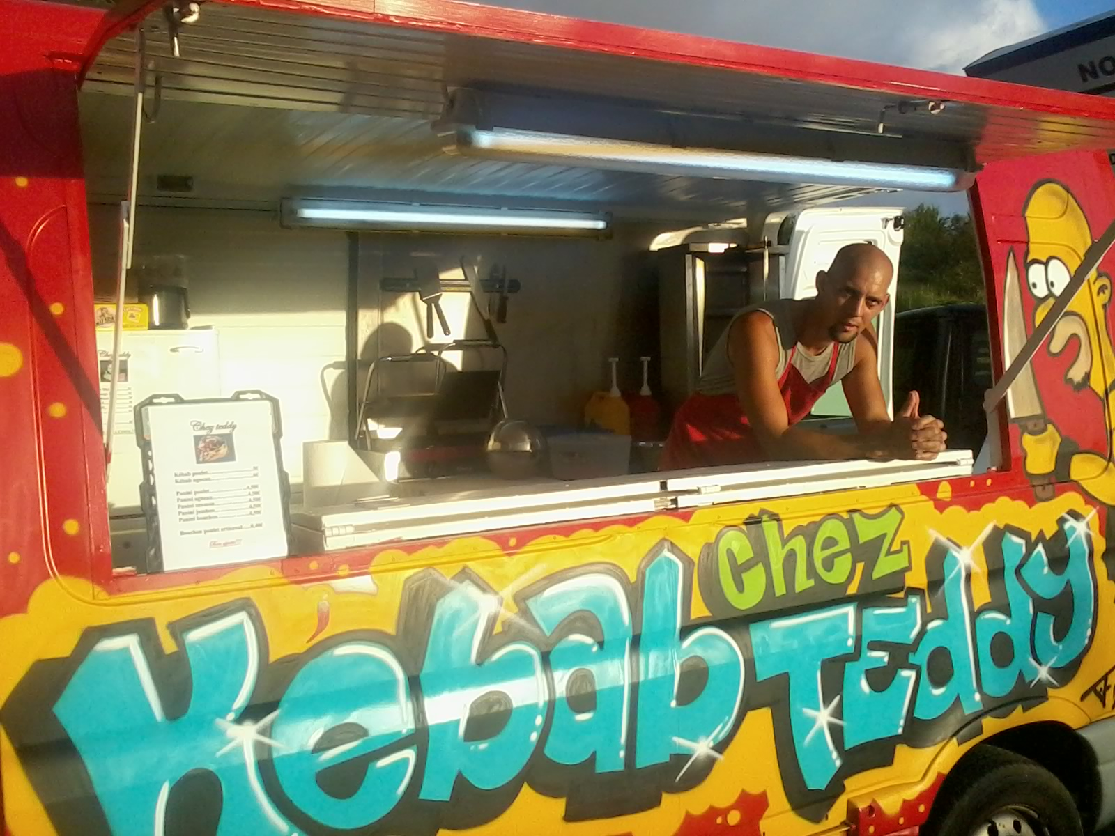 Kebab Chez Teddy à Saint-Leu