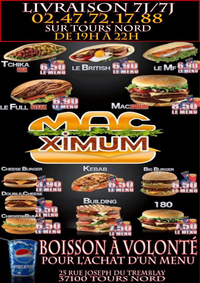Mac Ximum à Tours