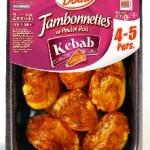 Jambonnettes Kebab