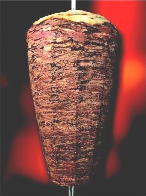 La viande de kebab : veau, dinde, boeuf... et l'agneau ?