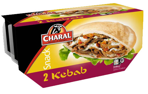 Charal lance son nouveau Kebab micro-ondes