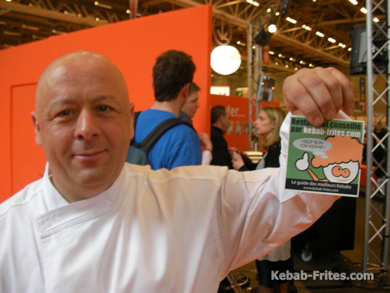 Thierry Marx aime Kebab-Frites