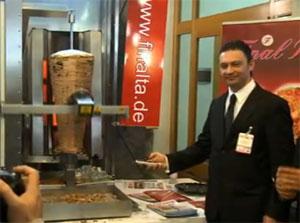 la machine kebab automatique au d ga kebab business. Black Bedroom Furniture Sets. Home Design Ideas