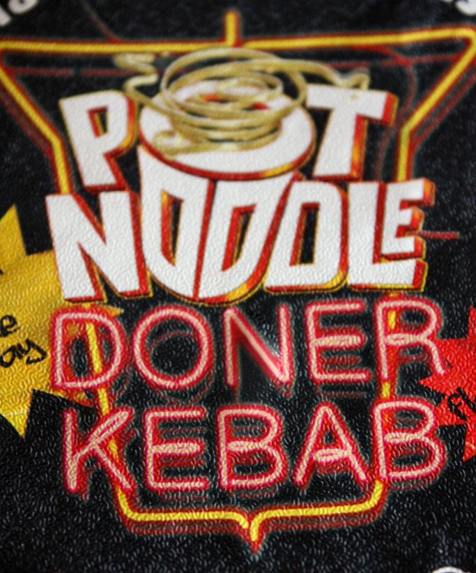 Pot Noodle Doner Kebab
