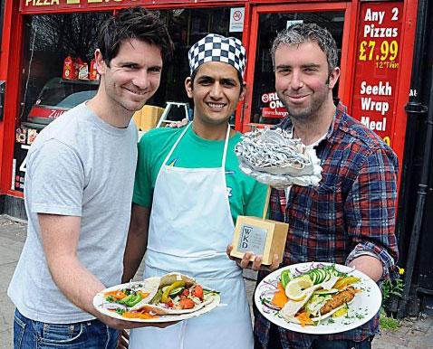 Les meilleurs Kebabs en Angleterre