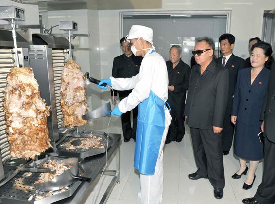 Kebab en Corée du nord