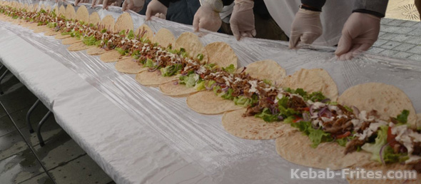 longest kebab world record