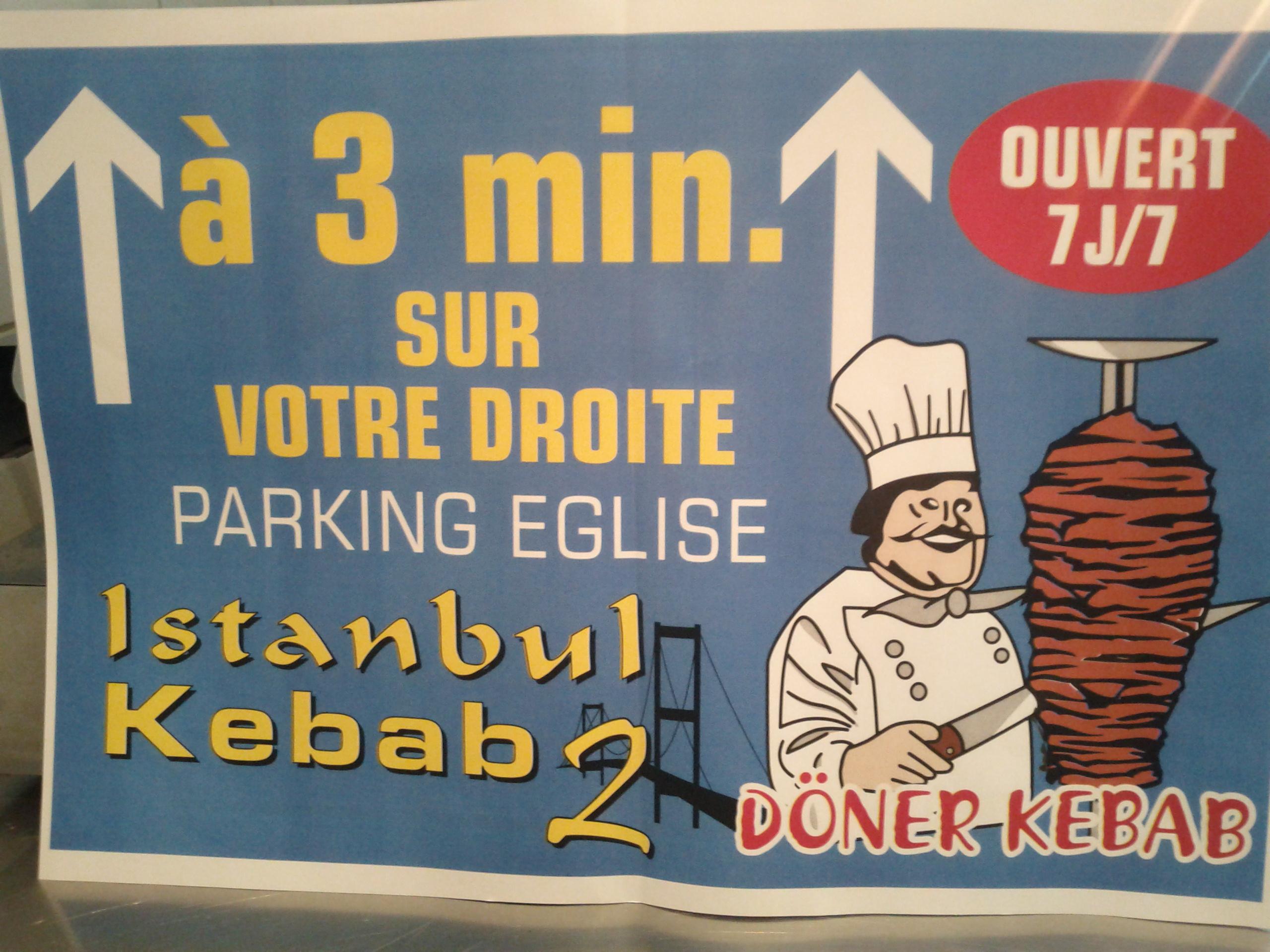 Kebab Istanbul 2 à Pré-en-Pail
