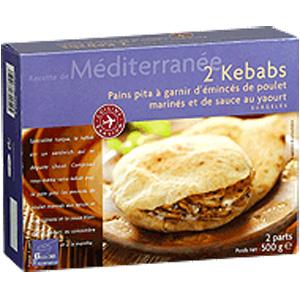 Kebab pain Pita à garnir - Picard