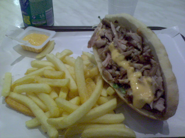 Kebab frites - Le Djerba à Lille