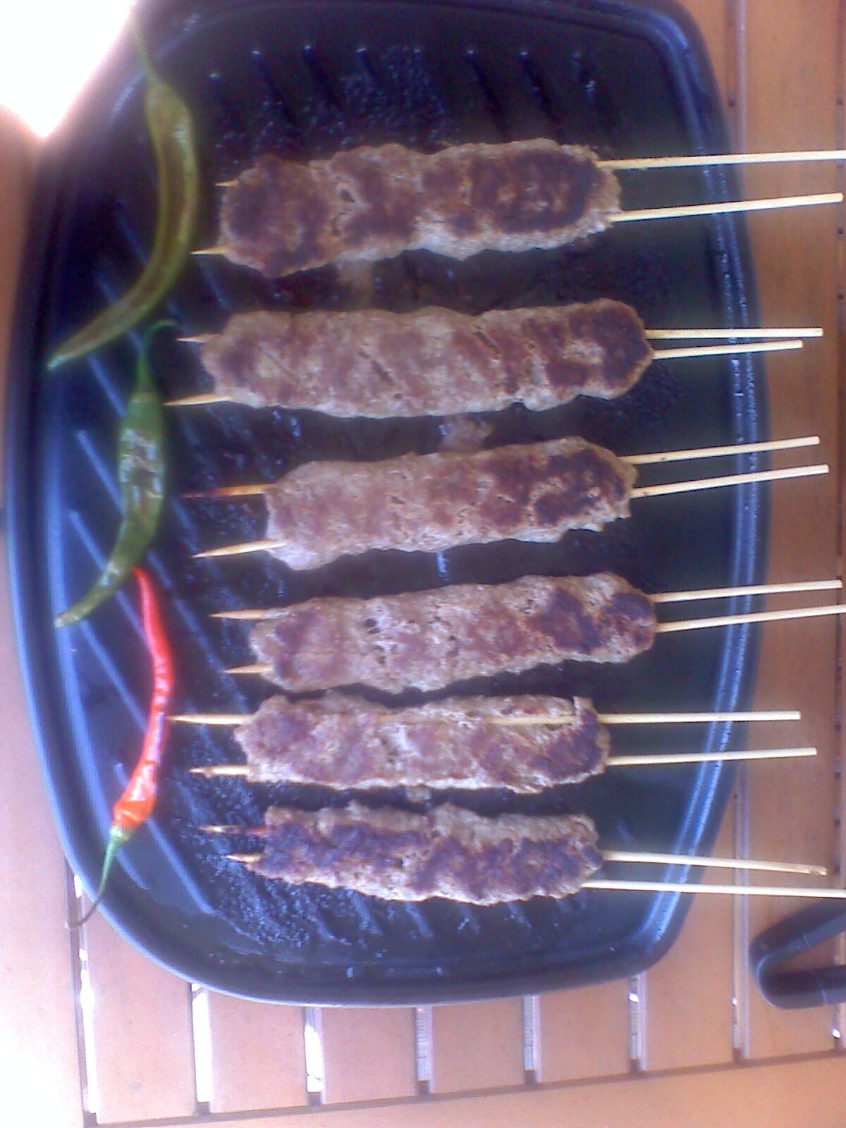 Brochettes Adana