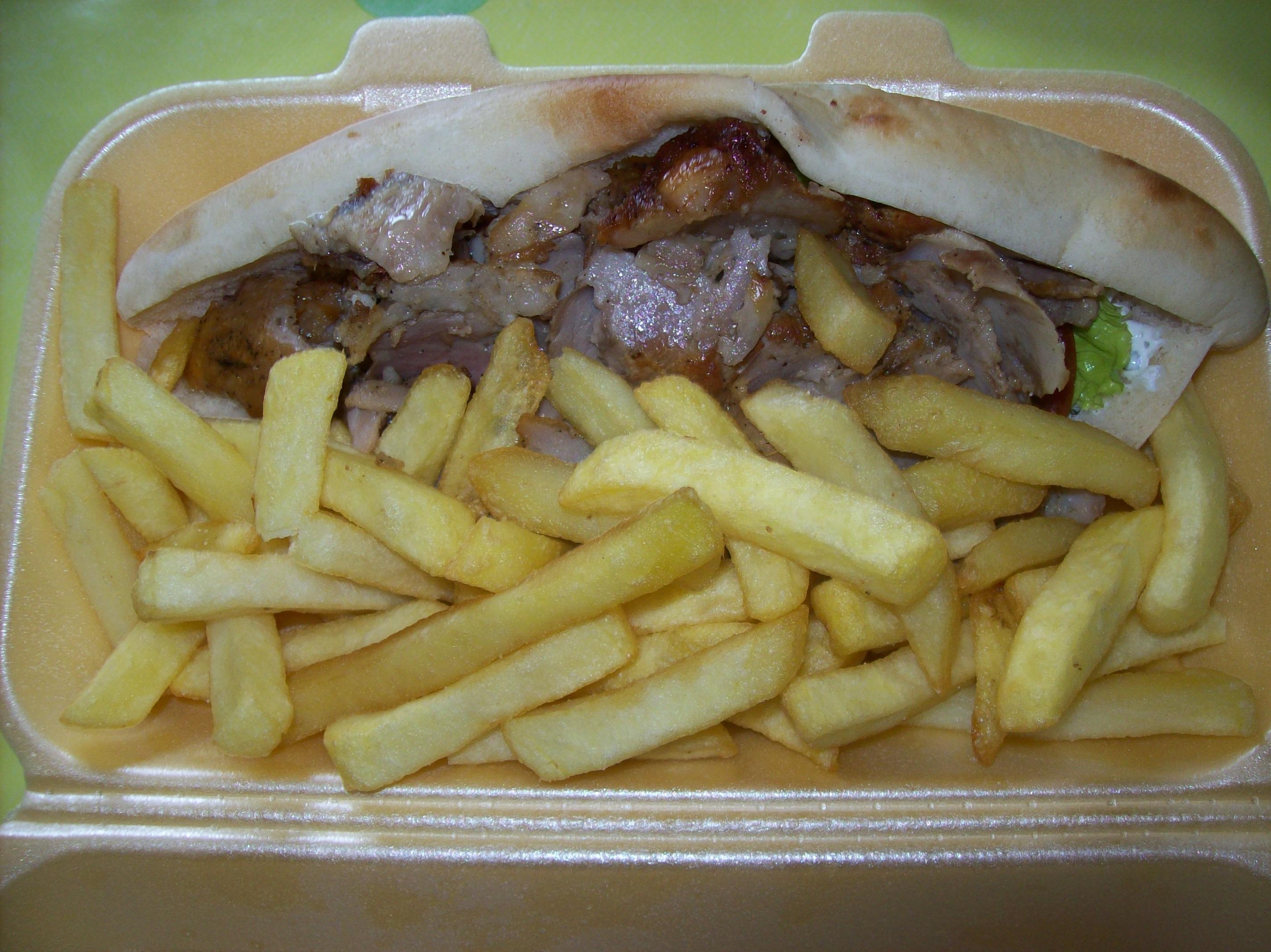 Kebab & Sandwich poulet - Ali Baba à Maurepas