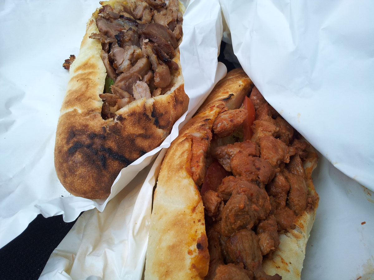 Kebab-frites et kebab brochette agneau - Mg kebab à Cergy