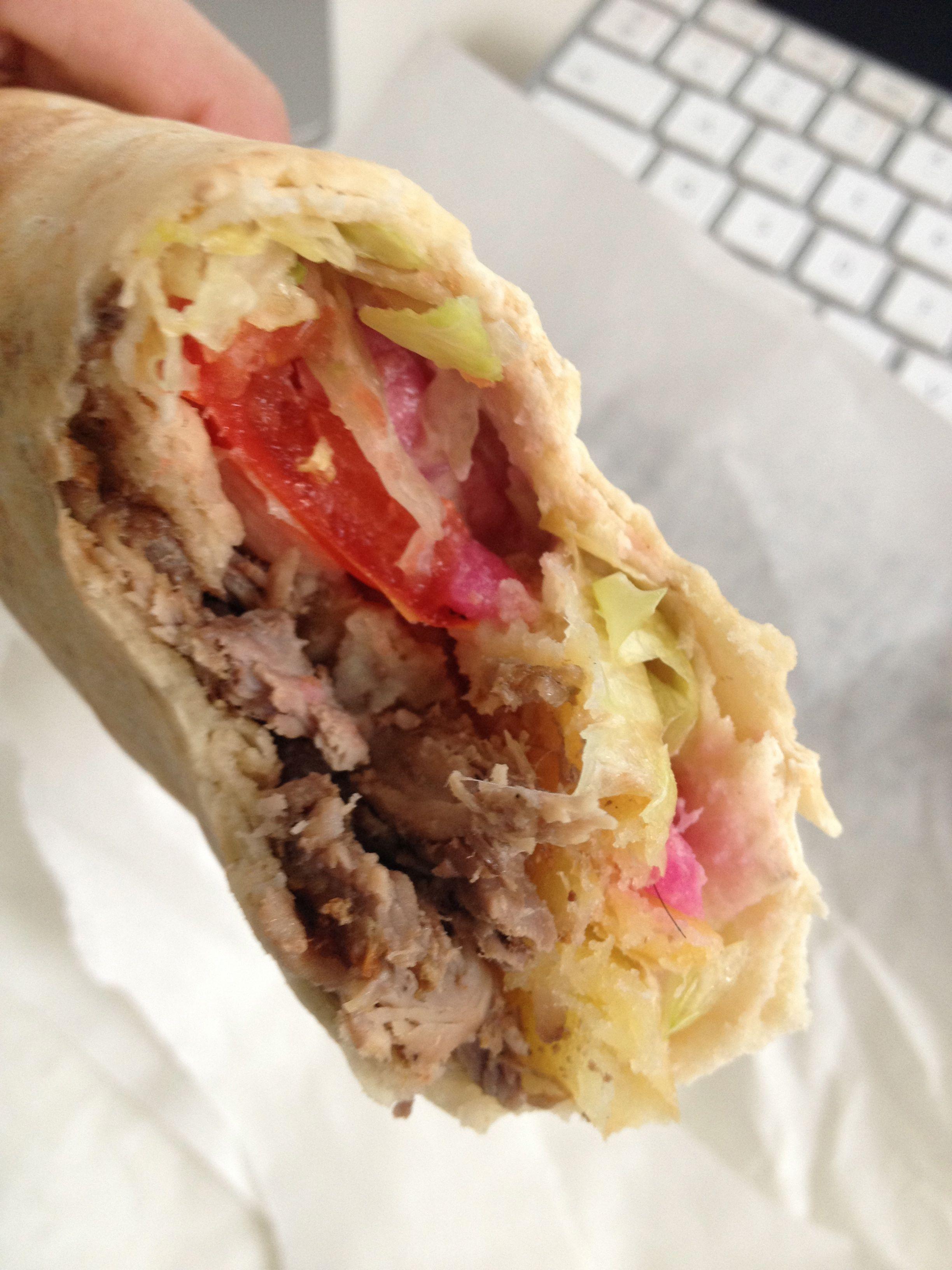 Shawarma viande - St Eustache Chawarma à Paris