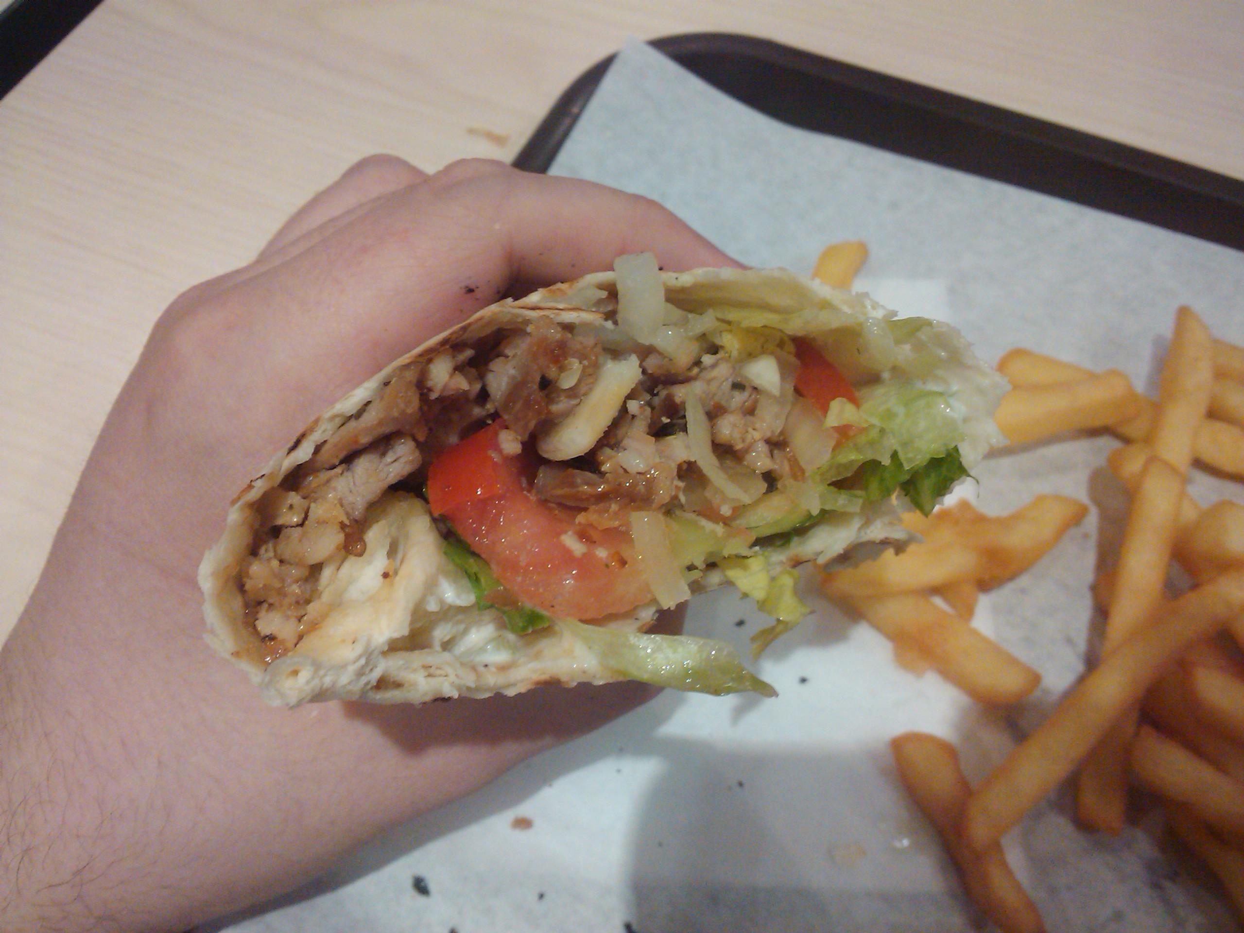 Galette Kebab Complète - Buffet d'Auteuil à Paris
