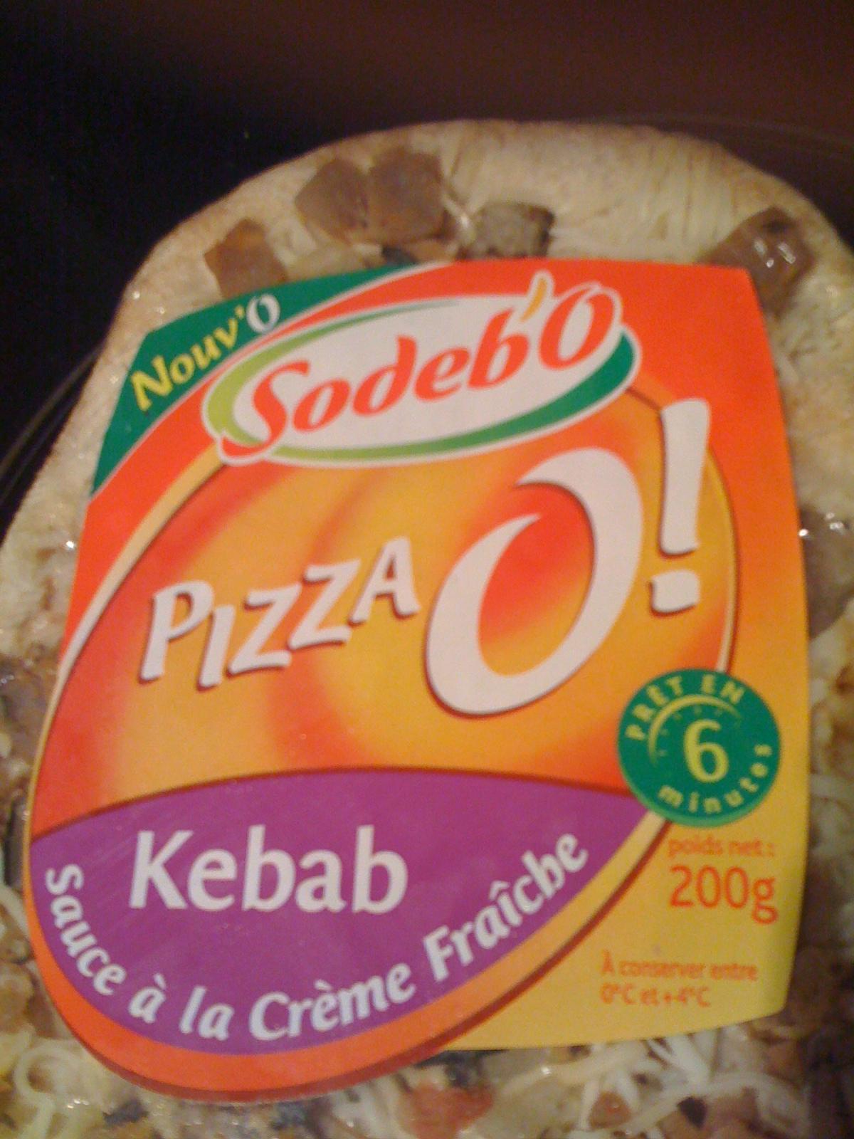 Pizza Kebab Sodebo