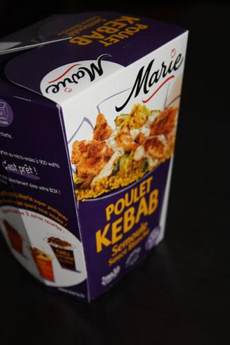 Lunch box Poulet kebab par Marie