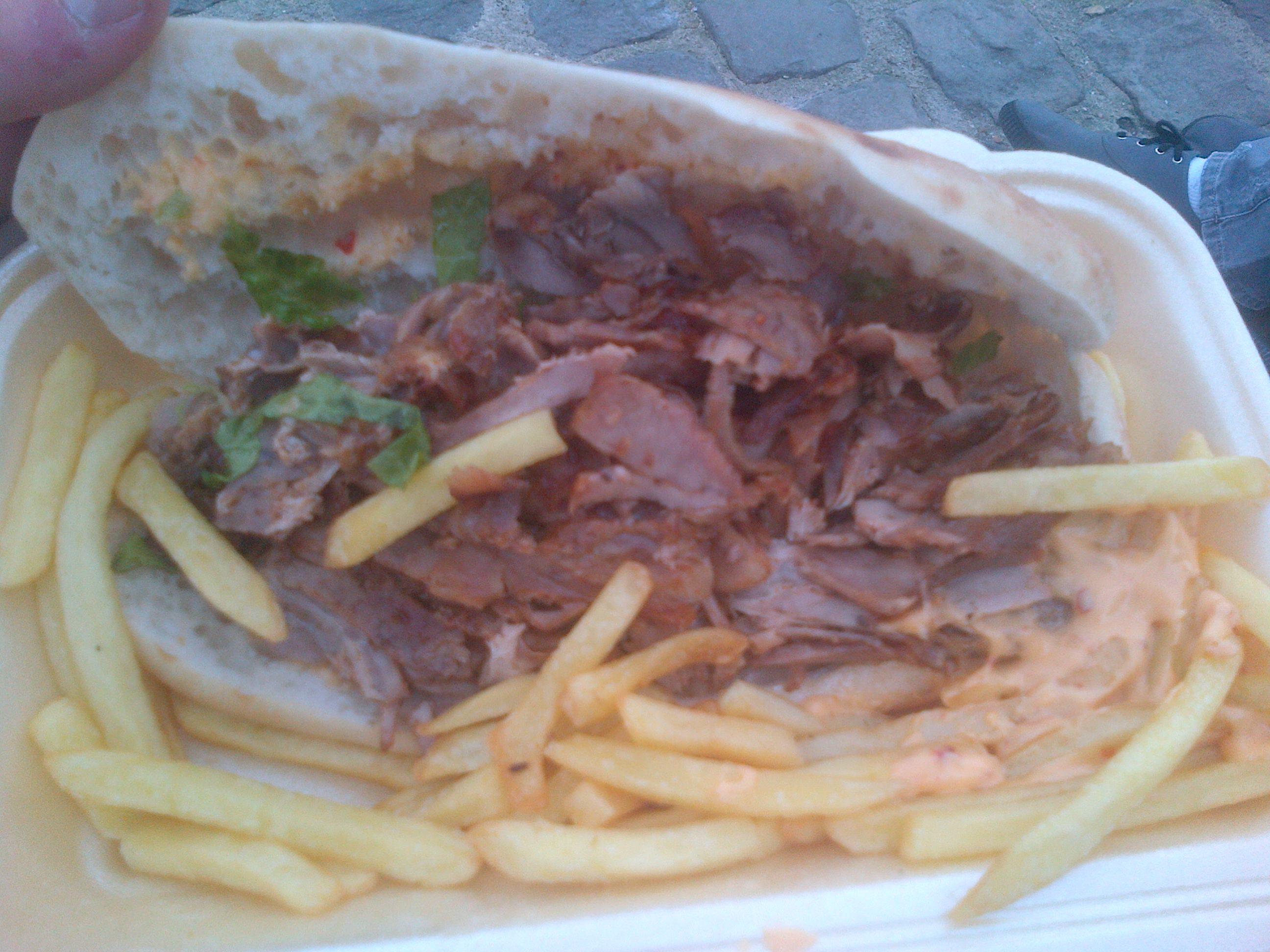 Kebab Frites Samourai - Le Bosphore à Paris