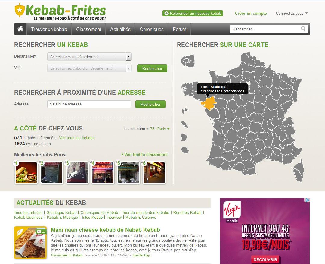 Kebab-Frites.com fait peau neuve !