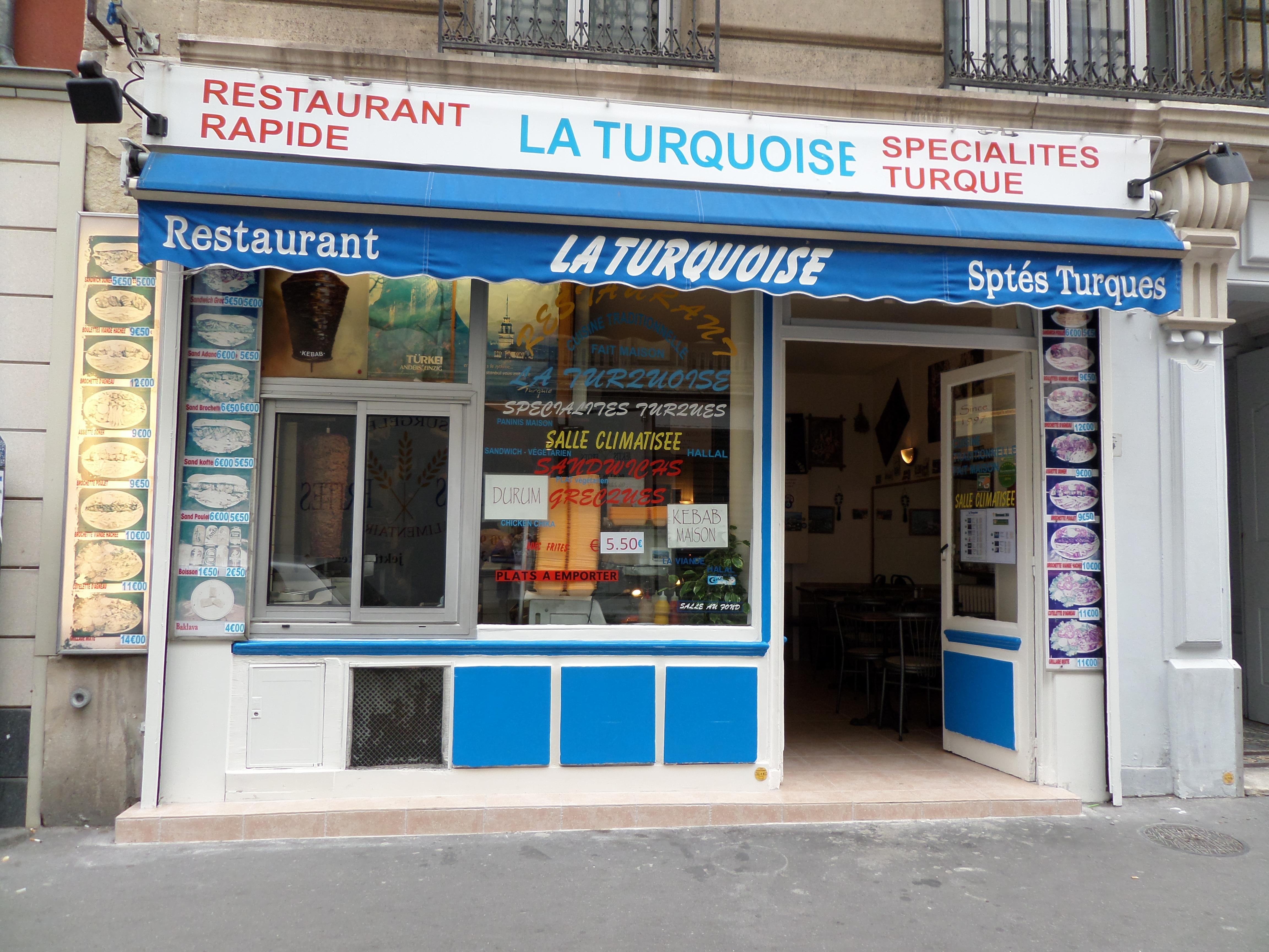 La Turquoise à Paris 14