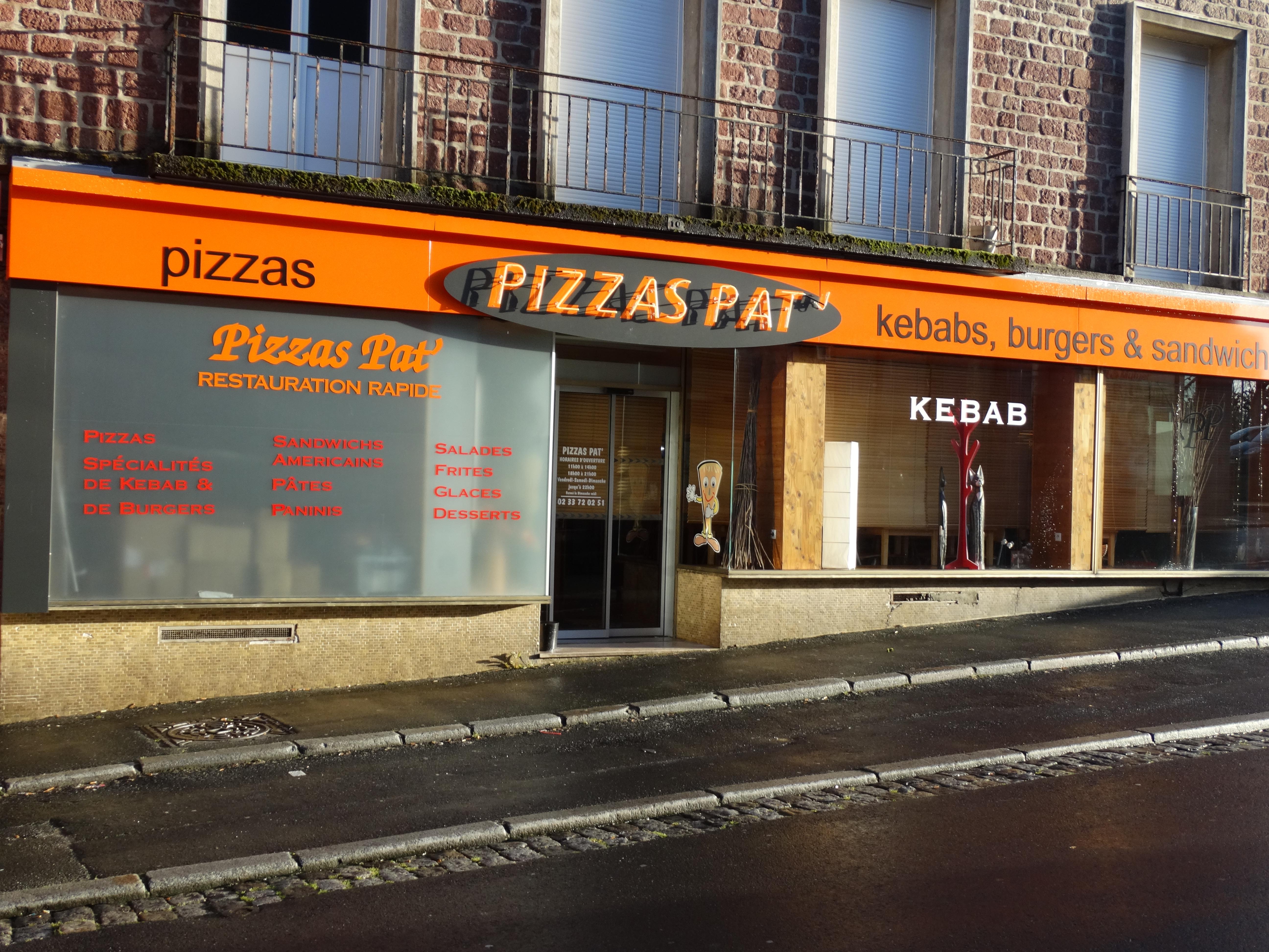 Pizzas pat'