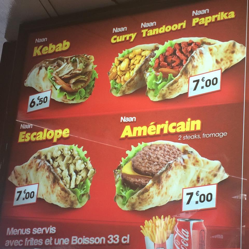 Poulet Paris Restaurant Kebab