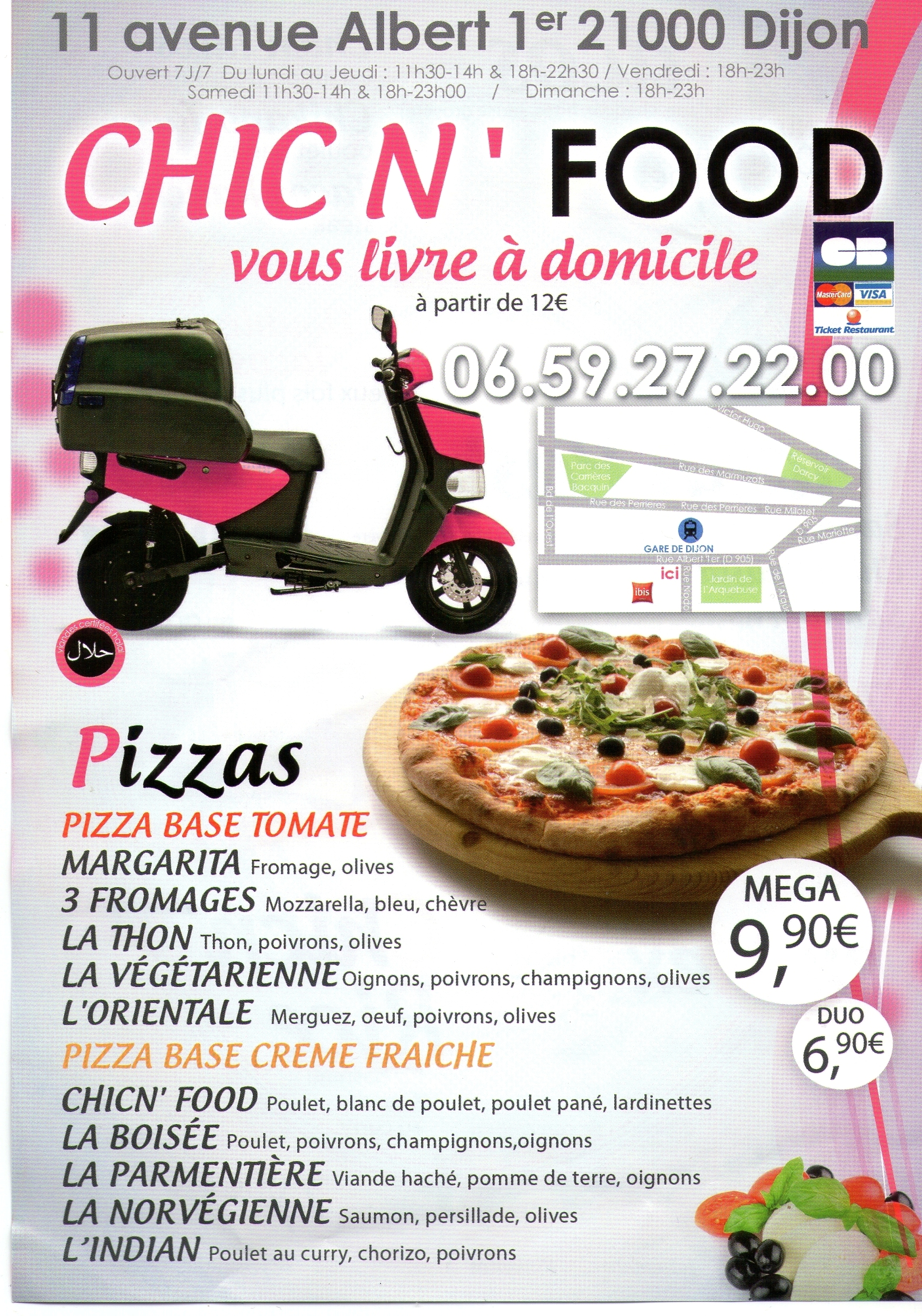 Chic' N Food - Dijon