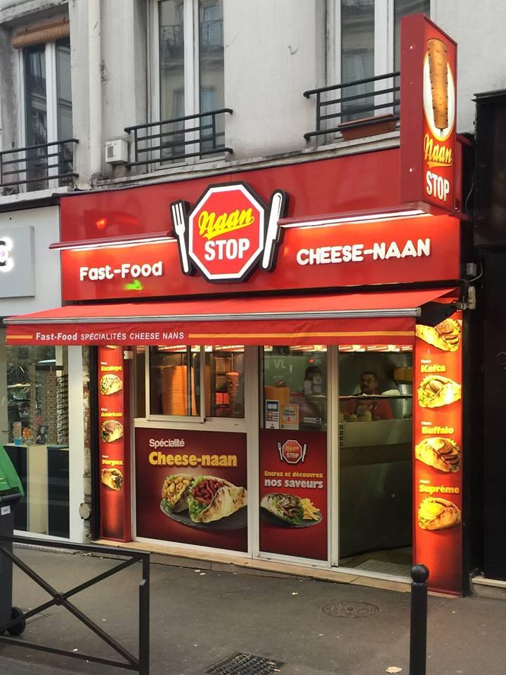 Naan Stop à Paris 12
