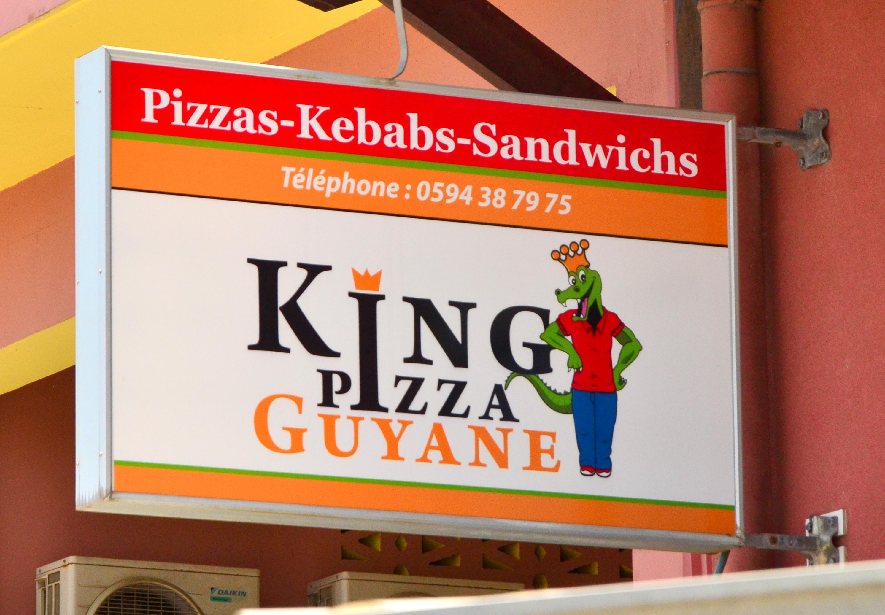 King pizza guyane à Cayenne