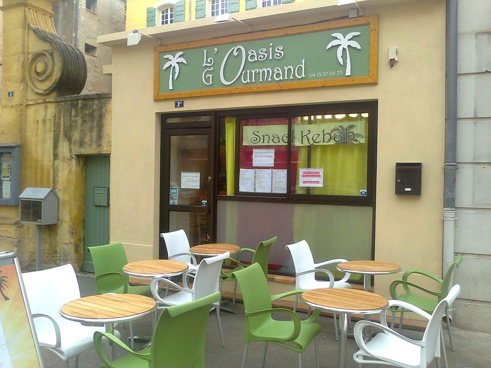 Snack L'Oasis Gourmand - Manosque