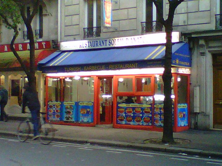 Le Soleil d'Anatolie à Paris 10