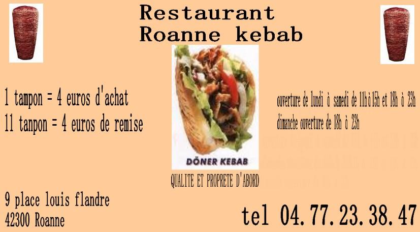 Roanne kebab