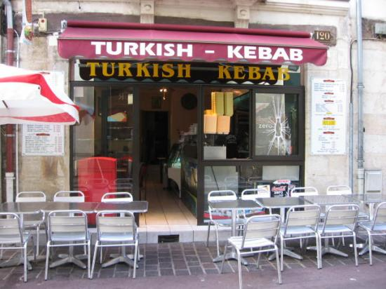 Turkish kebab à Tours