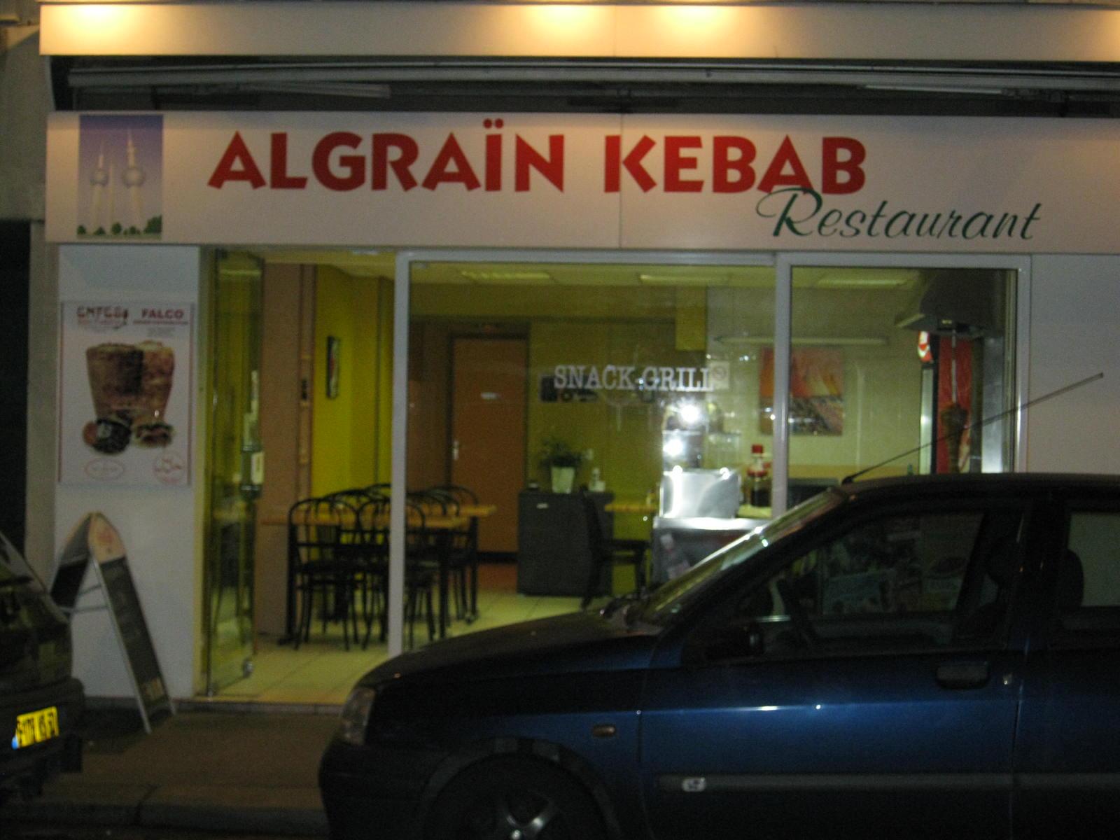 Algraïn kebab - Cherbourg-Octeville