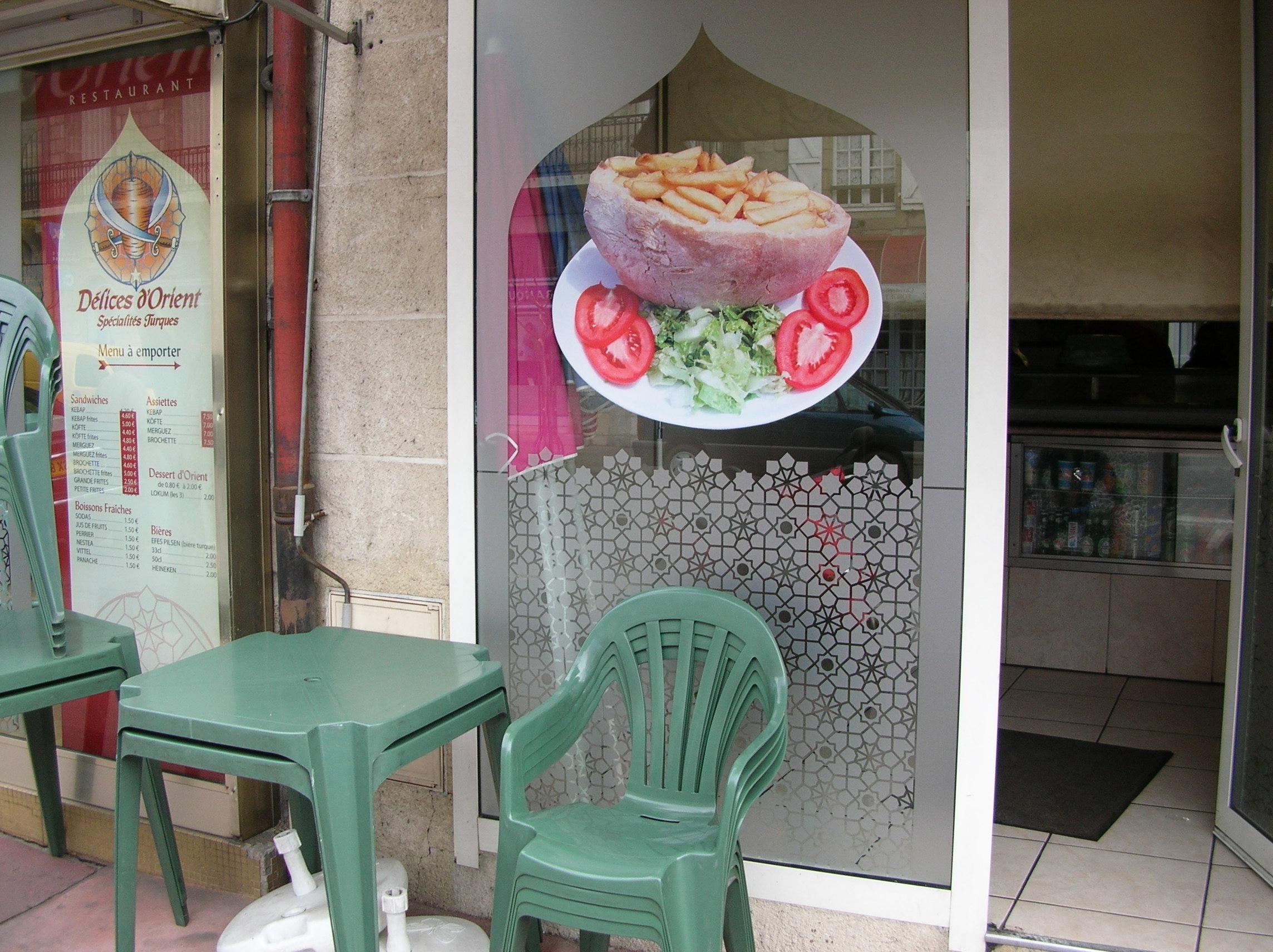 Délices d'orient kebab à Brive-la-Gaillarde