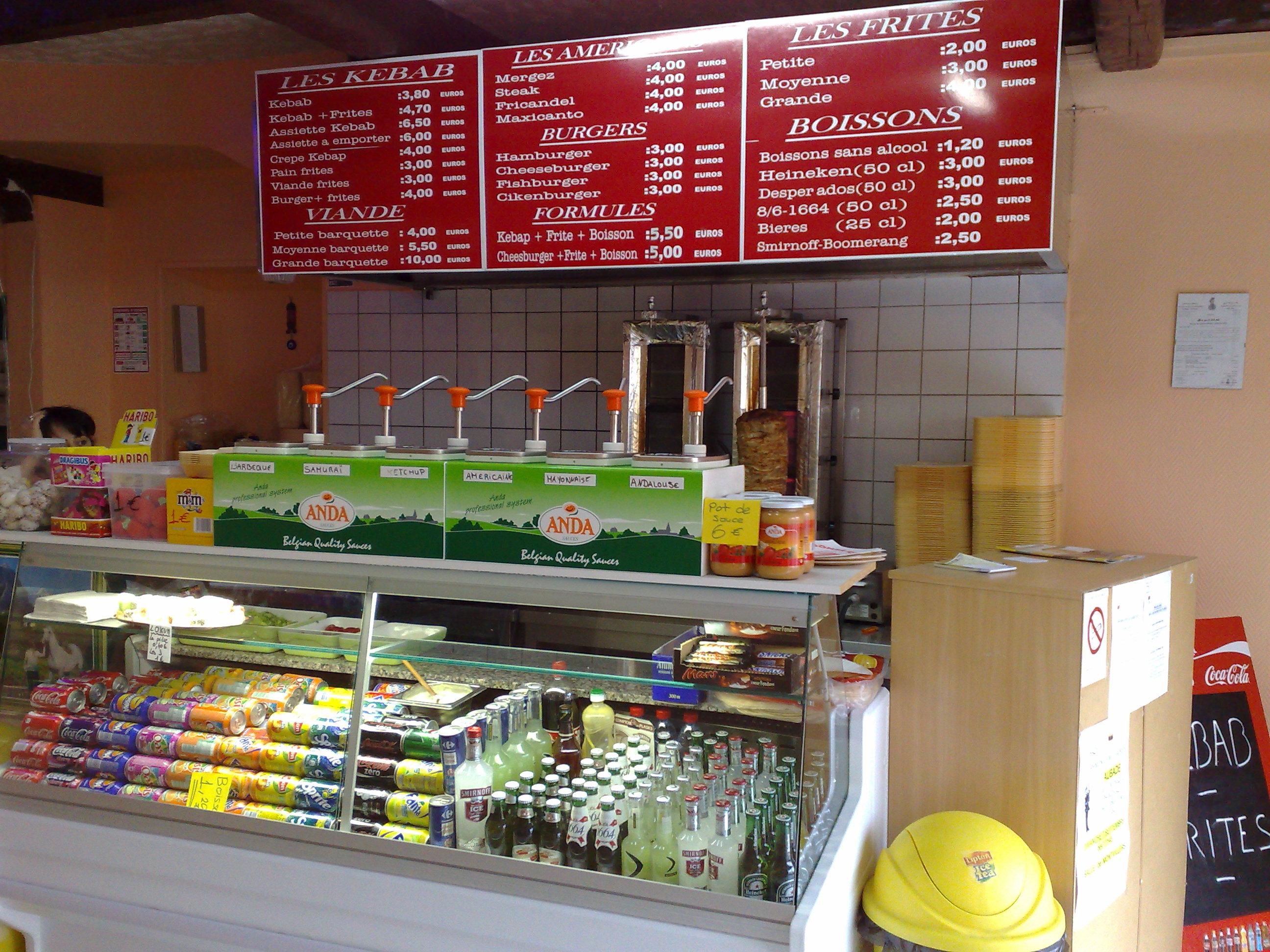 Dost kebab à Bazeilles