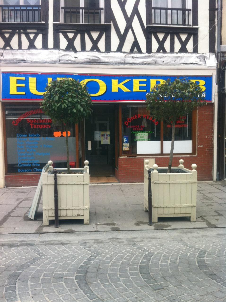 Euro kebab à Châlons-en-Champagne