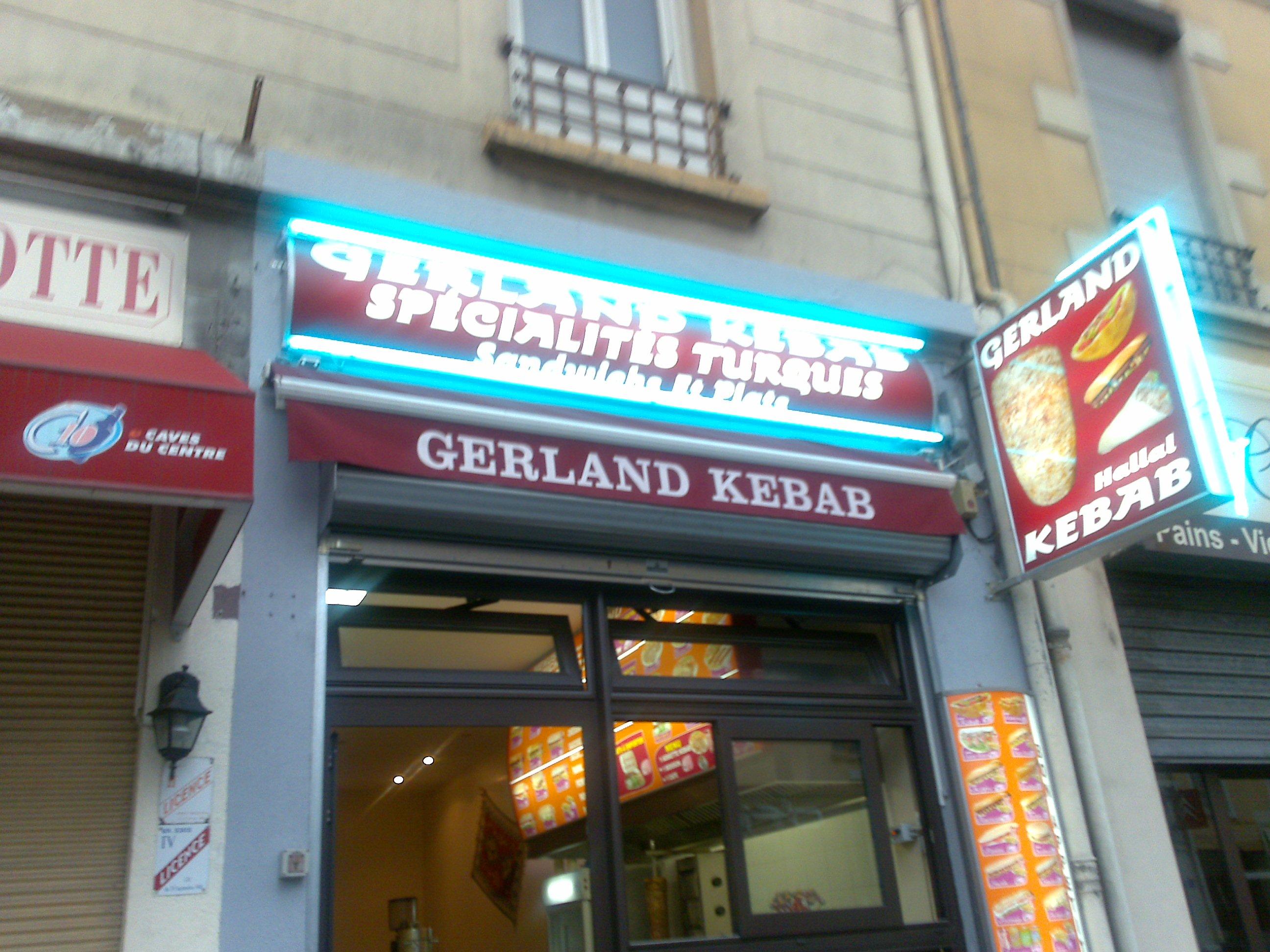 gerland kebab lyon avis tarifs horaires t l phone. Black Bedroom Furniture Sets. Home Design Ideas
