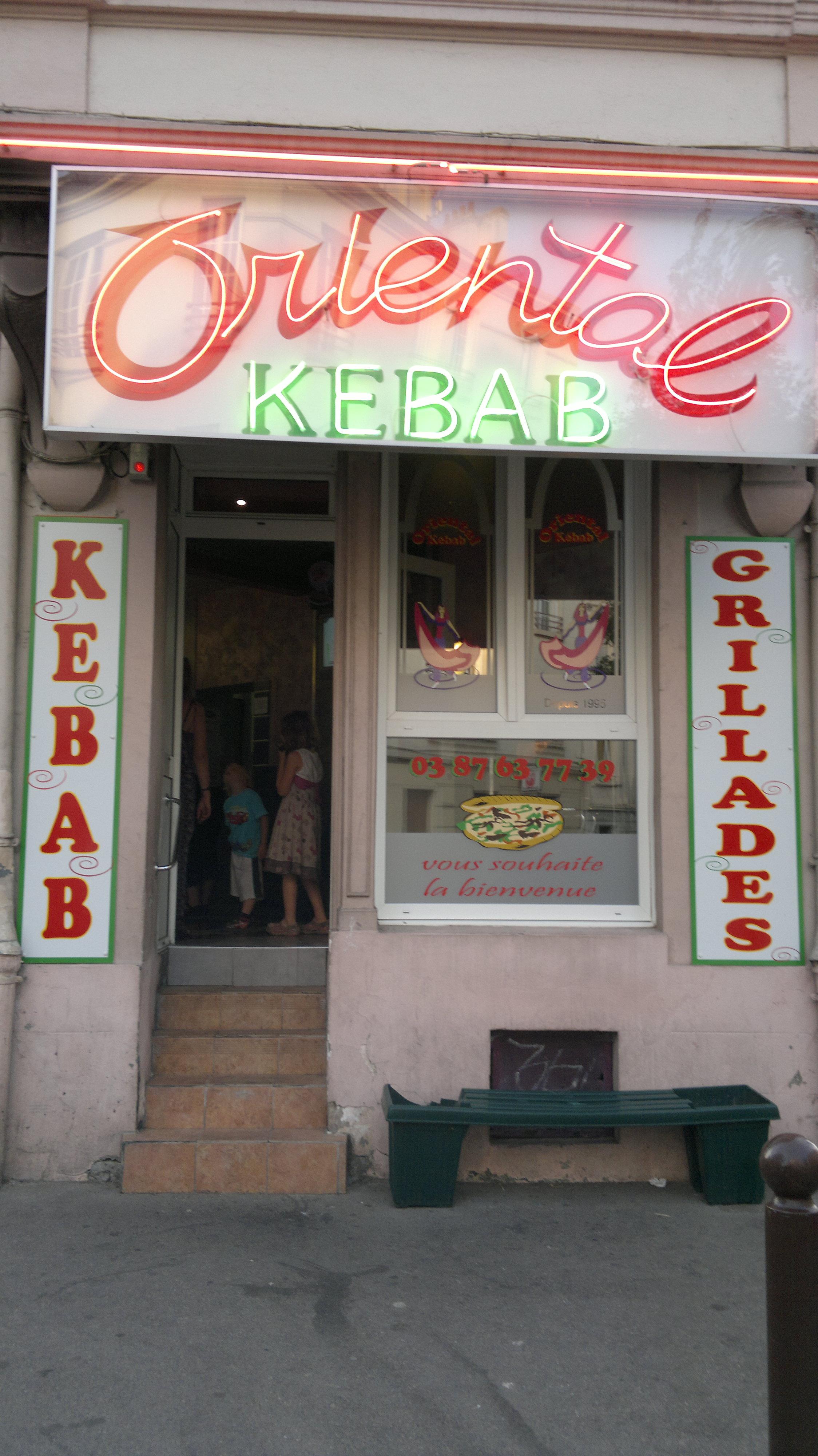 Oriental kebab