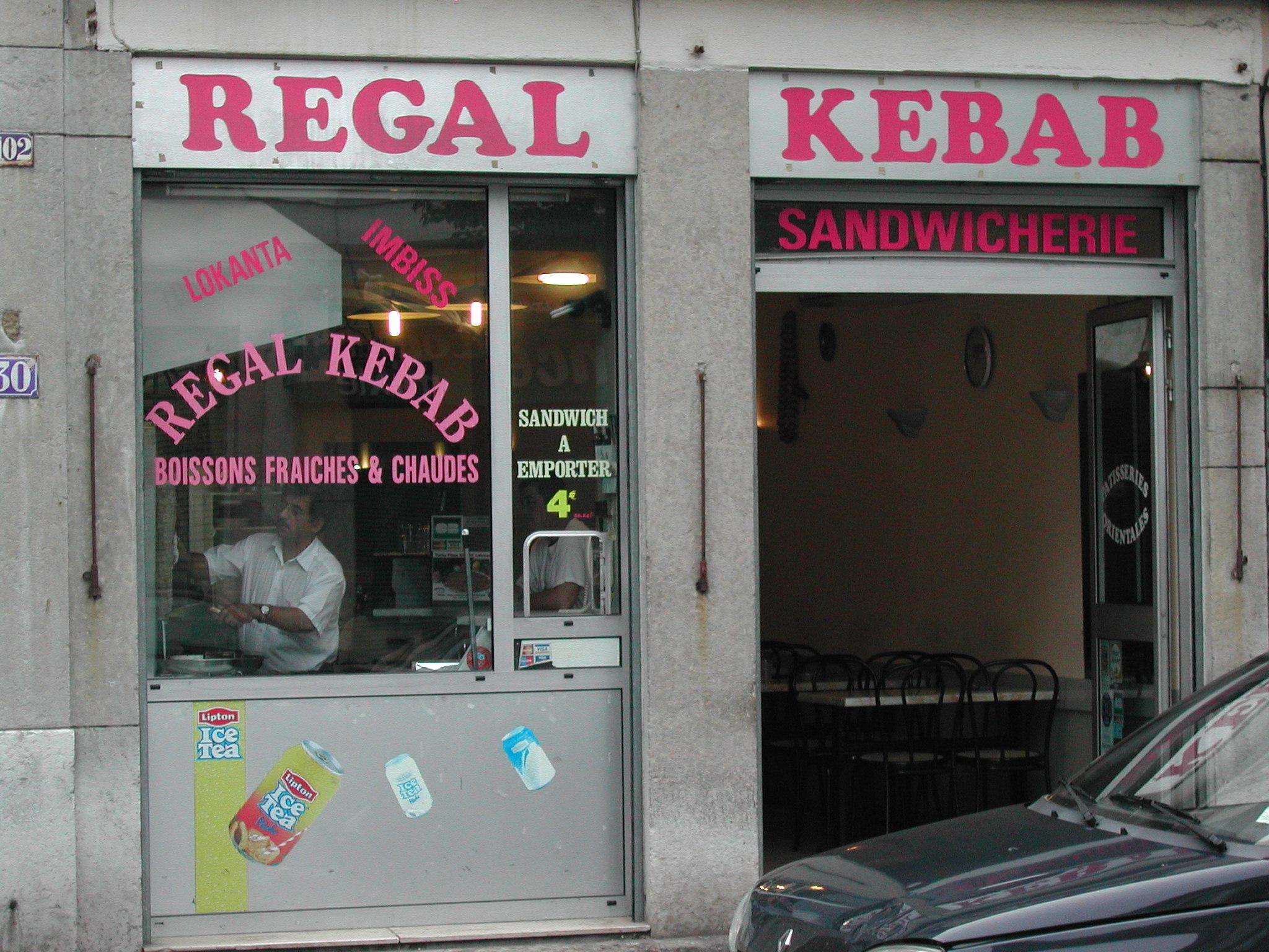 Régal kébab