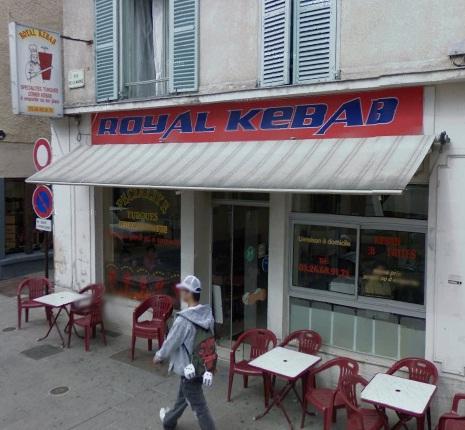 Royal kebab à Châlons-en-Champagne