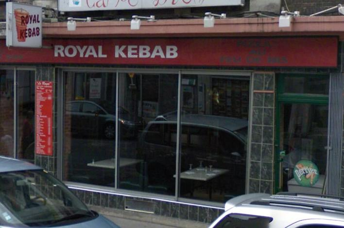 Royal kebab à Reims