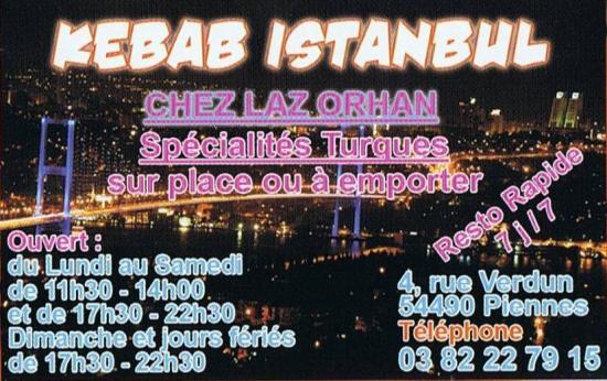 Snack kebab istanbul