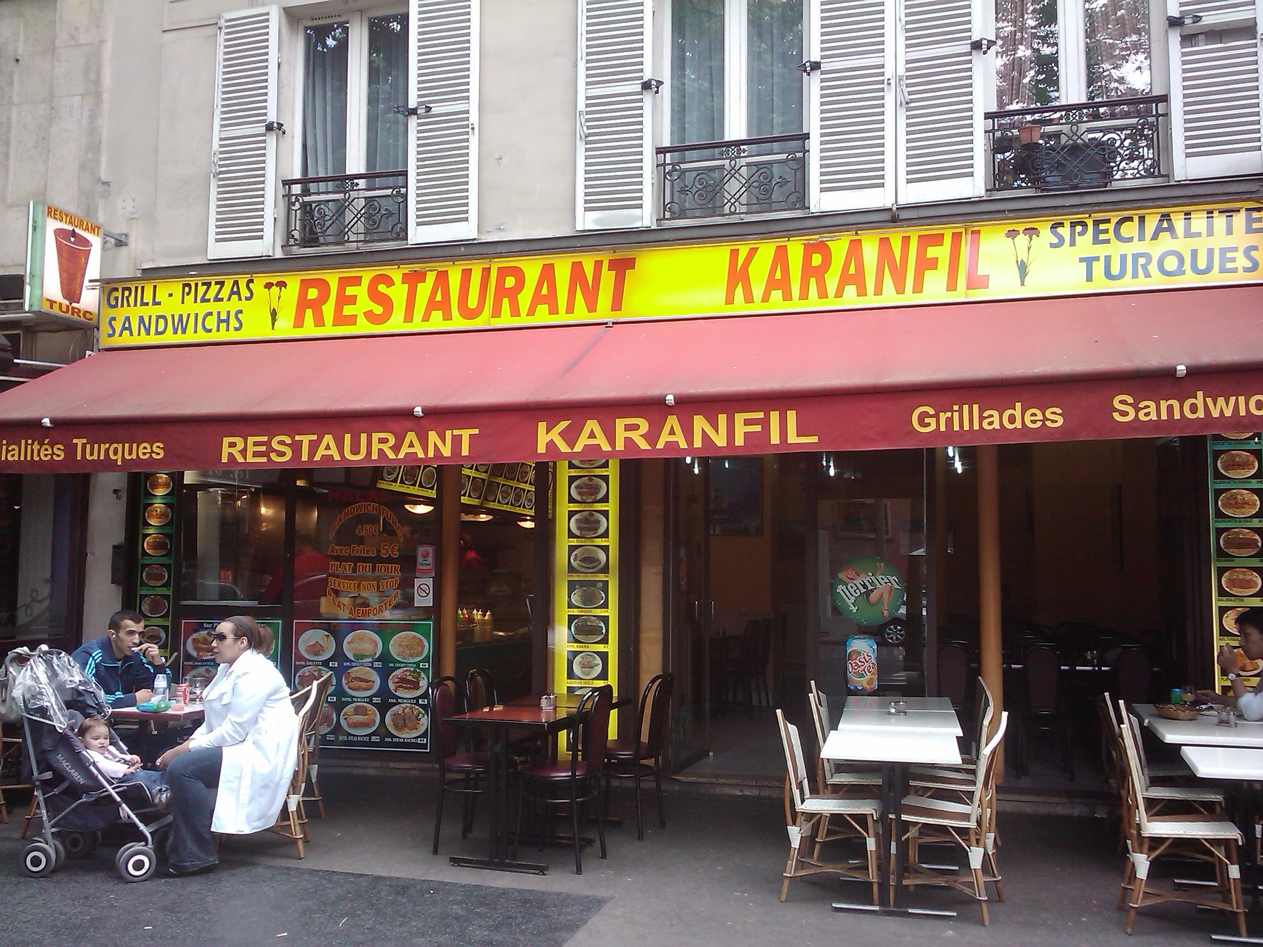 Karanfil à Paris 12