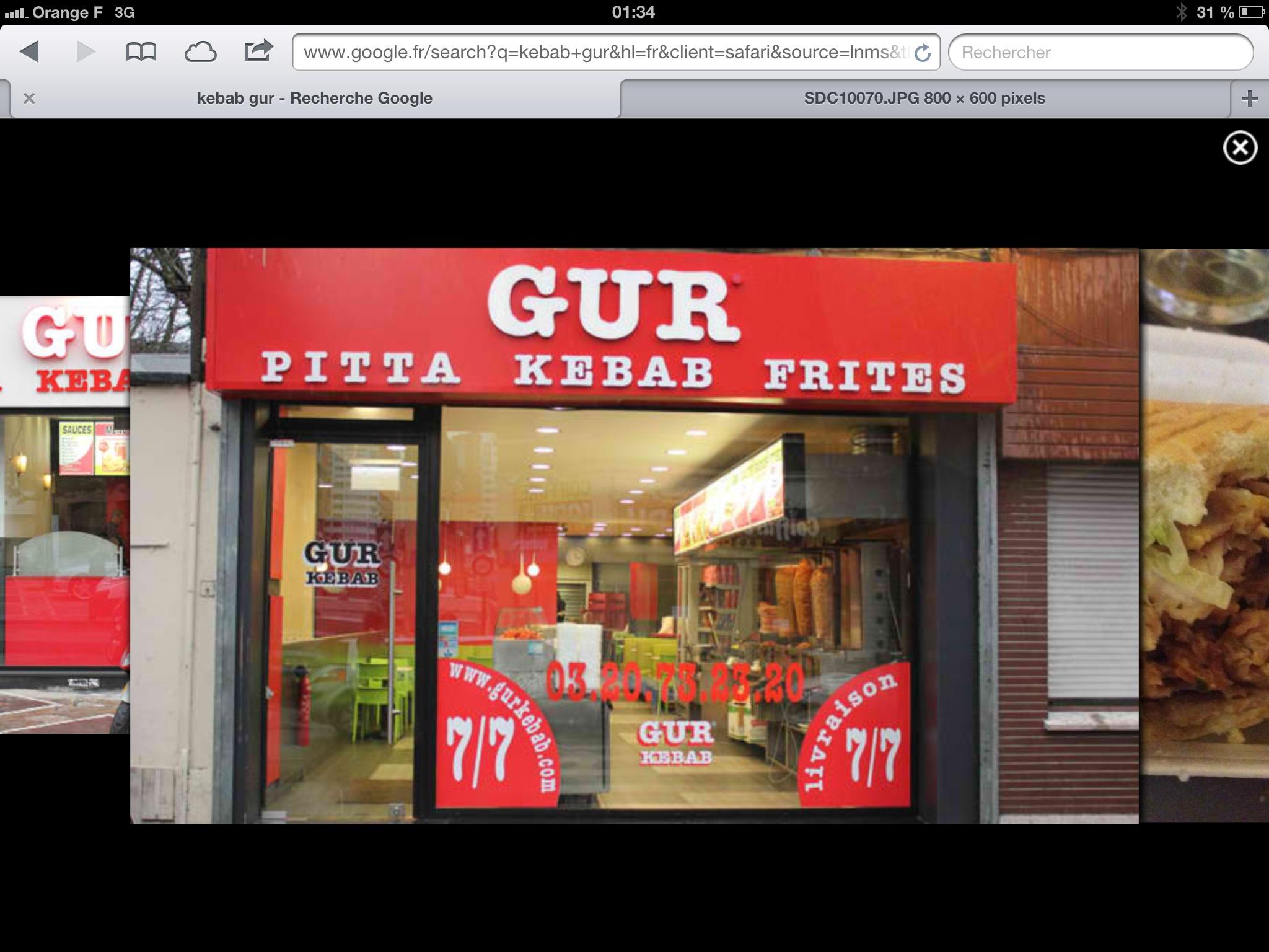 Snack Gur à Roubaix