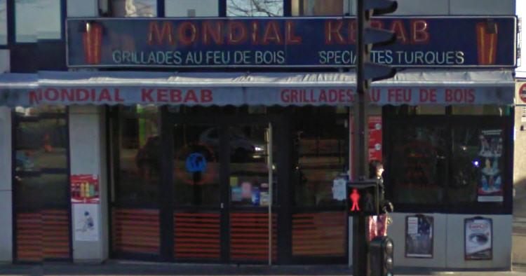 Mondial Kebab à Paris 17
