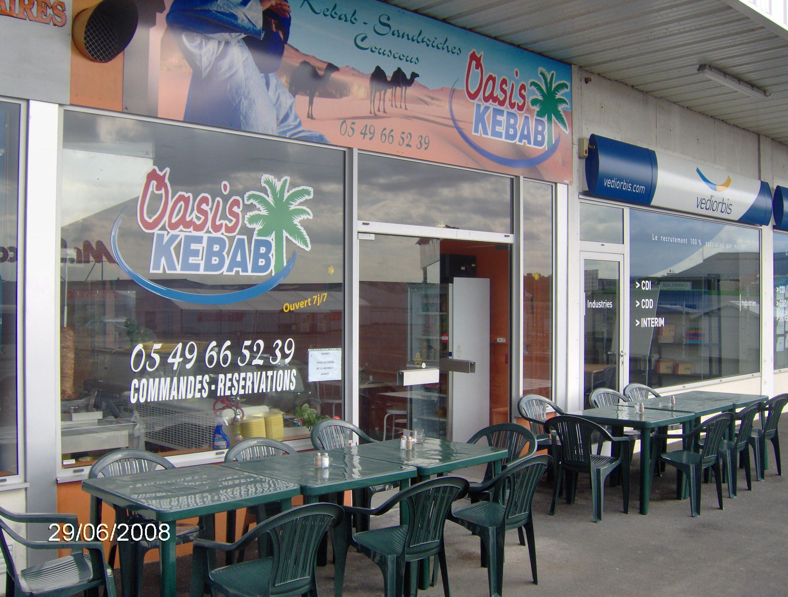 Oasis kebab à Sainte-Verge