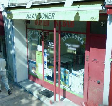 Kaan Doner kebab  à Dijon