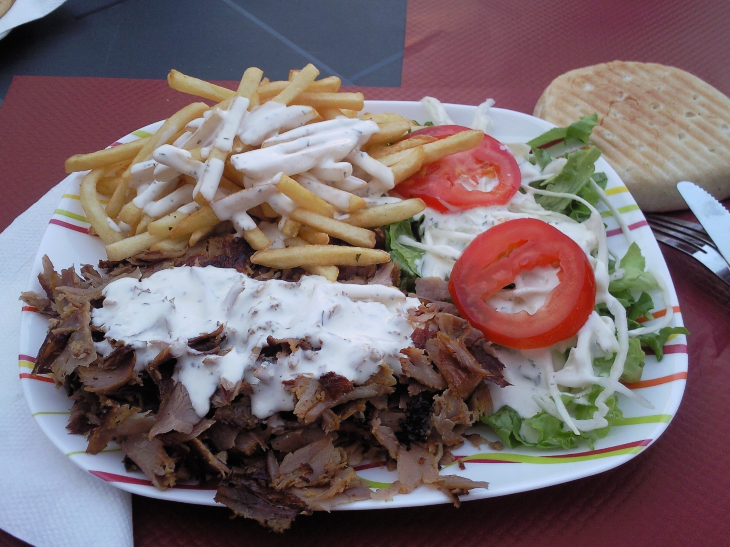 Nefis kebab à Lemberg