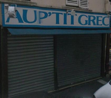 Au p'tit grec - Paris 05
